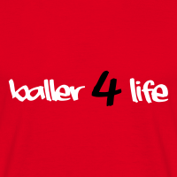 Zoom: Men's T-Shirt with design baller 4 life