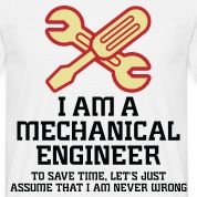 I Am A Mechanical Engineer 1 (dd)++ T-shirt