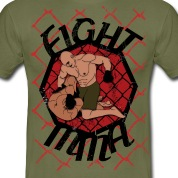 fight mma T-shirt