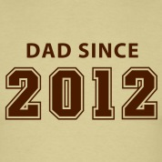 DAD SINCE 12 T-Shirt BK