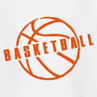 Zoom: Teenage T-Shirt with design Basketball Slogan Ball