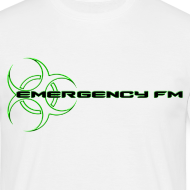 Design ~ EmergencyFM Website Logo T-Shirt