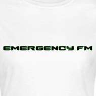 Design ~ EmergencyFM Text Logo T-Shirt