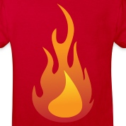 Flame (dd)++ Kids' Shirts