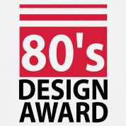 80s design award - birthday shirt men
