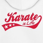 karate is life - retro Felpa bambini