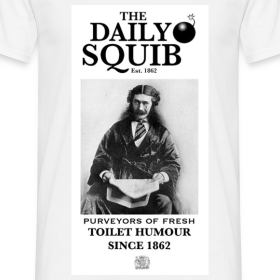 Design ~ Men's Daily Squib Fine Purveyors T-Shirt