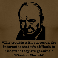 Design ~ Winston's internet quote