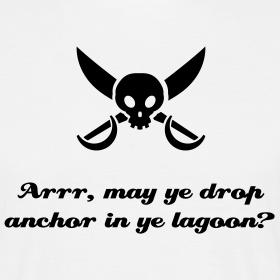 Arrr, May Ye Drop Anchor In Ye Lagoon?
