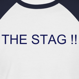 Design ~ Stag/Team T-shirt - Your Text Front & Back