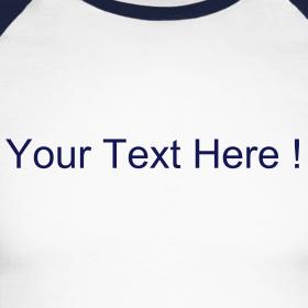 Design ~ Long Sleeve Baseball Tee Navy/White