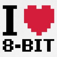 Design ~ I Love 8-bit cap