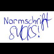 Normschrift Sucks!