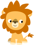 Motif Lion