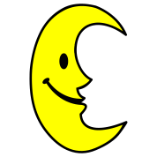 Smiley Moon
