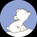 Motif Bébé ours