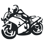 touring biker