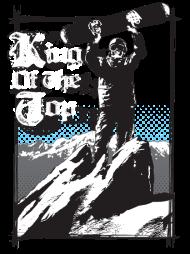 T-Shirt SnowBoard - King Of The Top <br />imprimer sur un tee shirt