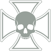 Skull Iron Cross