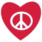 tatouage amour et paix peace and love tattoo