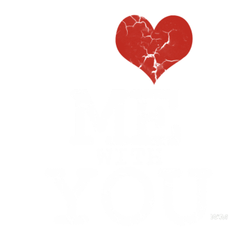 T-Shirt i love me with you by wam<br />imprimer sur un tee shirt