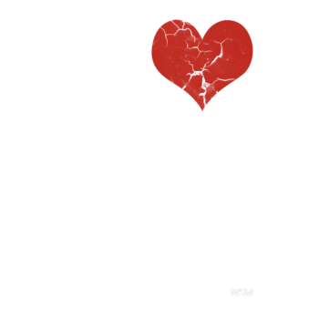 T-Shirt i love you with me white by wam<br />imprimer sur un tee shirt
