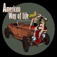 T-Shirt American Way Of Life<br />imprimer sur un tee shirt