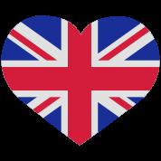 Love England Herz Heart Uk United Kingdom T Shirt