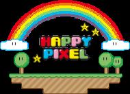 T-Shirt Happy Pixel<br />imprimer sur un tee shirt