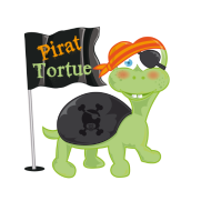 T-Shirt Tortue pirate<br />imprimer sur un tee shirt
