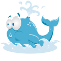 Motif Irène la Baleine
