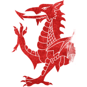 Welsh Dragon Rampant
