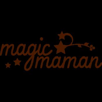 T-Shirt magic maman<br />imprimer sur un tee shirt
