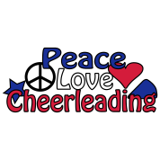 Peace Love Cheerleading
