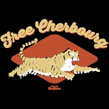 T-Shirt cherbourg free leopard<br />imprimer sur un tee shirt