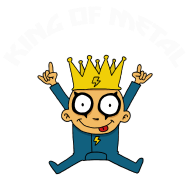 T-Shirt King of metal<br />imprimer sur un tee shirt
