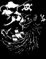 T-Shirt Blackbeard<br />imprimer sur un tee shirt