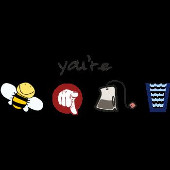 T-Shirt Bee-u-tea-full<br />imprimer sur un tee shirt