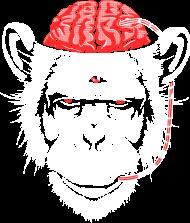 T-Shirt cerveau de singe<br />imprimer sur un tee shirt