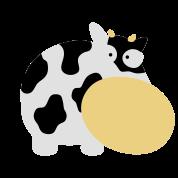 Moo Cow Farm Animal Farm Muhkuh Muuuh