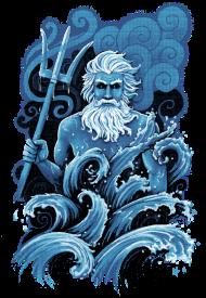 T-Shirt Poseidon<br />imprimer sur un tee shirt