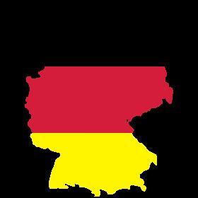 Deutschland schwarz rot gold auf dein T-Shirt