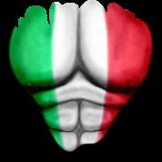 Italia Lippu Ripatun Lihakset