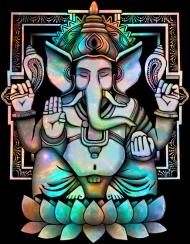 T-Shirt Cosmic Ganesh<br />imprimer sur un tee shirt