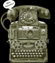 T-Shirt THE 1ST SMARTPHONE<br />imprimer sur un tee shirt
