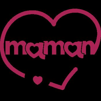 T-Shirt meilleur maman coeur<br />imprimer sur un tee shirt