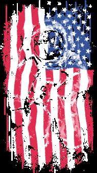 T-Shirt Astronaut Flag<br />imprimer sur un tee shirt