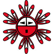 Hopi Kachina Sun Symbol T-shirtHopi Sun Symbol