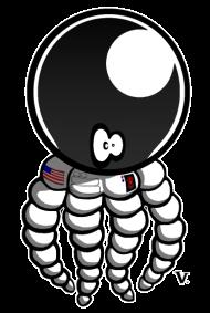 T-Shirt Cosmoctopus<br />imprimer sur un tee shirt