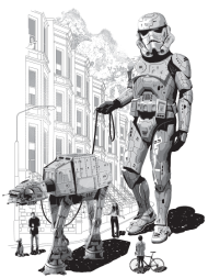 T-Shirt STORMTROOPER GOES HOLIDAY<br />imprimer sur un tee shirt
